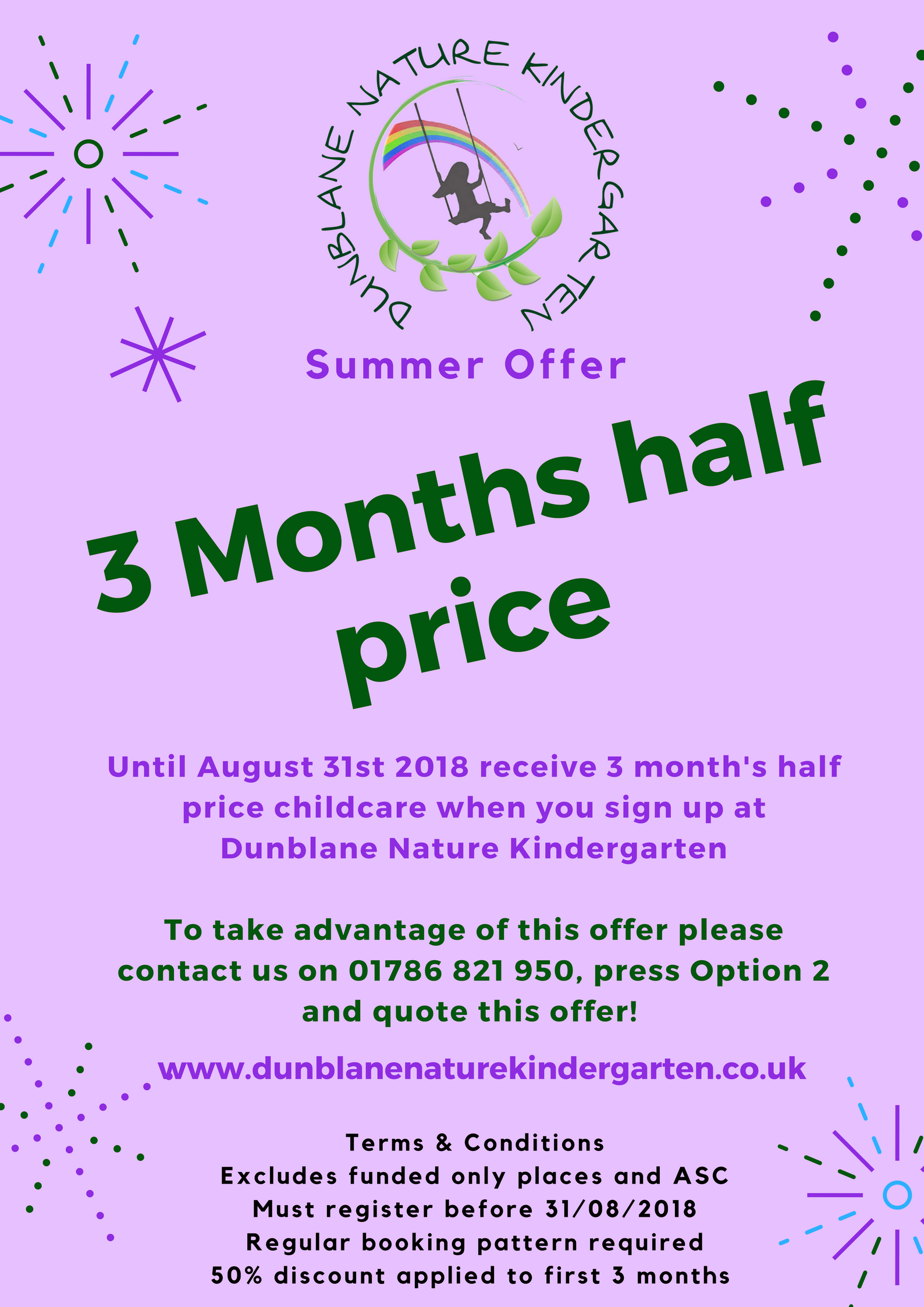 DNK Nursery Summer Offer